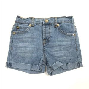 [7 For All Mankind] Girls Stretch Jean Shorts